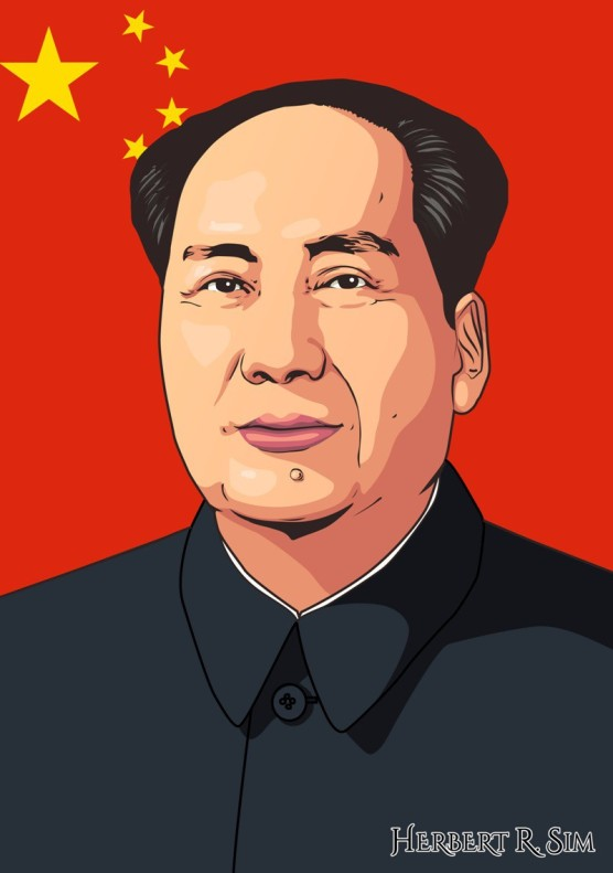 Herbert-Sim-Mao-Zedong-Illustration